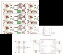 SNSE - CAO Schematic Gerbers board PCB Nomenclature BOM